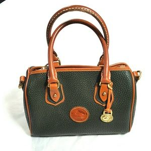 DOONEY & BOURKE Vintage Green Leather Purse